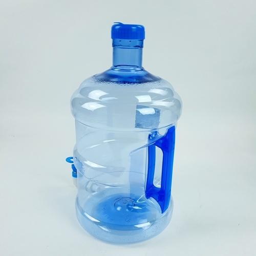 GOME ถังน้ำพร้อมก๊อก 7.5 ลิตร ขนาด 20x20x37 ซม. PET ZF-007 สีฟ้า
