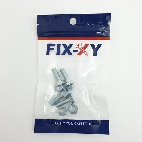 FIX-XY สกรูเกลียวมิล 1/4x3/4 (4ชิ้น/แพ็ค)  EF-001