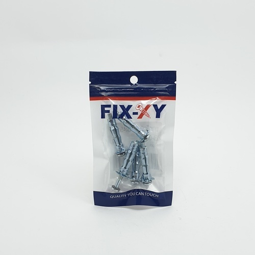 FIX-XY พุกเหล็กยิบซั่ม 5x45mm.  (5ชิ้น/แพ็ค) EI-007