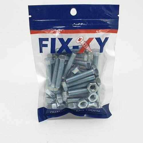 FIX-XY สกรูเกลียวมิล  5/16x1.1/2 EF-016(20ชิ้น/แพ็ค)