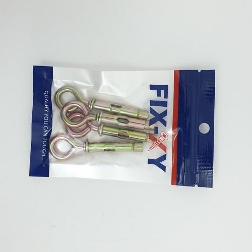 FIX-XY พุกเหล็กห่วงกลม M6 ( 4ชิ้น/แพ็ค) EH-009