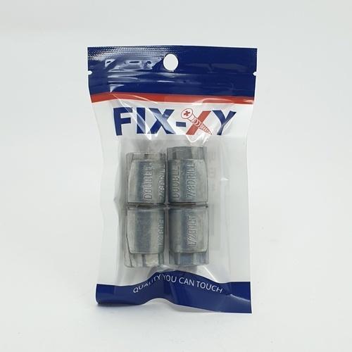 FIX-XY พุกตะกั่ว 1/2x7/8 EG-004 (2ชิ้น/แพ็ค) สีเทา
