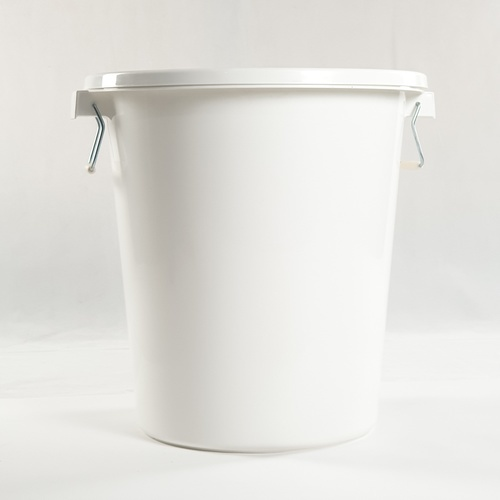 GOME ถังน้ำกลมฝาล๊อค 90L  DT004-WH สีขาว