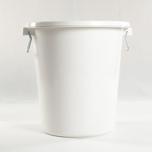 GOME  ถังน้ำกลมฝาล็อค ขนาด 65L DT002-WH สีขาว