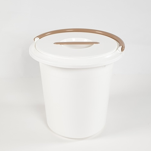GOME ถังน้ำ กลมพร้อม   ขนาด 18L สีขาว