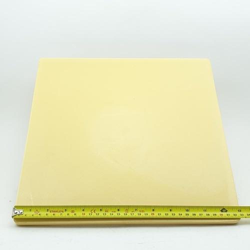 HUMMER เกียงฉาบปูน ขนาด 33x33 ซม. ํYDH011 สีเหลือง