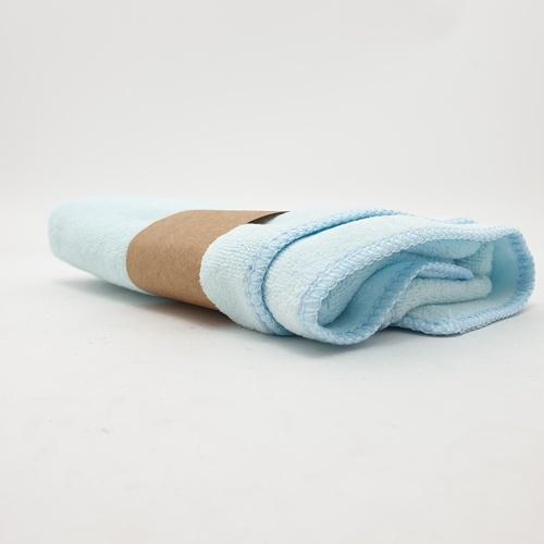 COZY ผ้าขนหนูไมโครไฟเบอร์ 30x70ซม.  BQ015-BBL สีเบบี้บลู  สีฟ้า