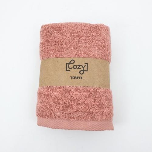 COZY ผ้าขนหนู สีโครอล  BQ006-COR สีส้ม