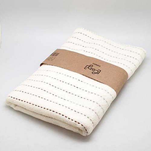 COZY ผ้าขนหนู ขนาด 70x140ซม. GTL007-WH สีขาว