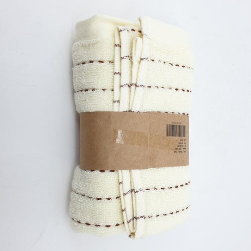 COZY ผ้าขนหนู ขนาด 34x75ซม. GTL006-WH สีครีม