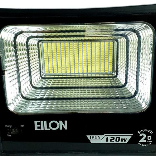 ELON โคมไฟโซล่าร์เซลล์ ขนาด 32*8.7*26.8cm 35 วัตต์  HQ-120WTGD-TYN สีดำ