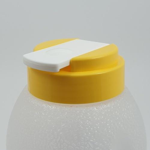 GOME ขวดน้ำพลาสติก 750ML.  ขนาด 8.3x8.3x20.5 ซม. K259-YE สีเหลือง