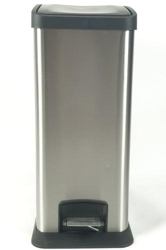 LUXUS ถังขยะขาเหยียบ ความจุ 12 ลิตร EED005-410SL