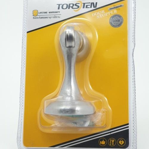 TORSTEN กันชนประตูแม่เหล็ก ขนาด 4.5x4.5x9.5ซม.  PQS-BNE-4SS สีสแตนเลส