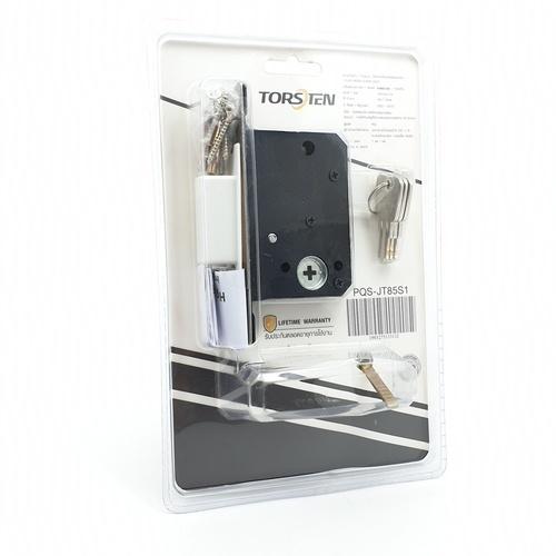 TORSTEN มือจับบานเลื่อนประตู ขนาด 16x4.5x0.1ซม. PQS-JT85S1 สีเงิน