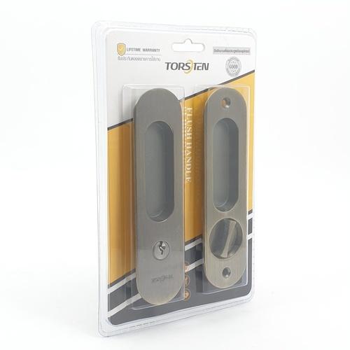 TORSTEN มือจับบานเลื่อนประตู  PQS-JT85G สีทองเหลืองรมดำ