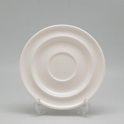 ADAMAS จานรองแก้วเมลามีน ขนาด15.5x15.5x1.7 ซม. MA1094 สีขาว