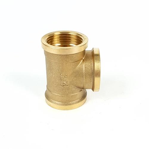 VAVO สามทางทองเหลือง มมม  3/4นิ้ว  YF-5010