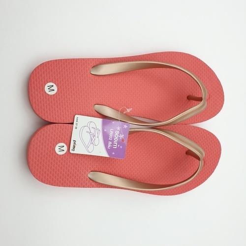 PRIMO รองเท้าแตะยางพารา  เบอร์ 37-38 LR002 สีส้ม