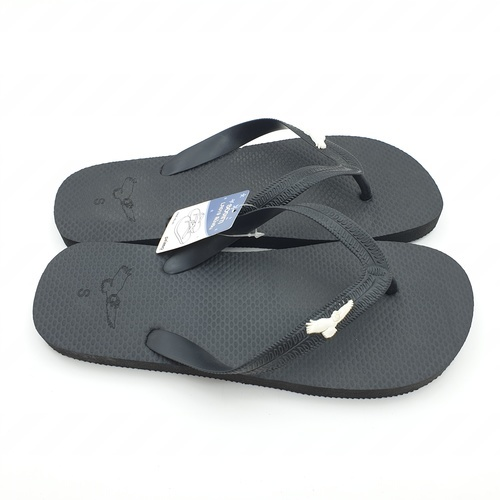 PRIMO  รองเท้าแตะยางพารา เบอร์ 40-41  LR019 สีดำ