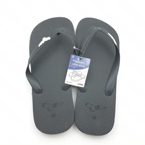 PRIMO รองเท้าแตะยางพารา เบอร์ 42-43 LR020 สีดำ