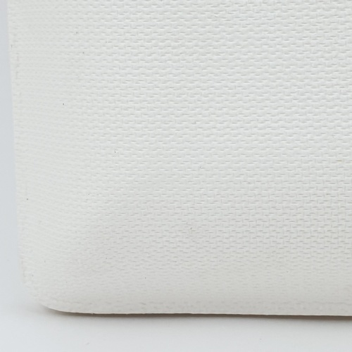 nibiru จานเหลี่ยม size. L ขนาด 22x22x2 ซม. 10ใบ/แพ็ค FJDB031 สีขาว