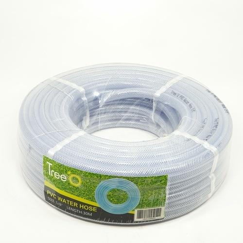 Tree O สายยางม้วน PVC ใยแก้ว ขนาด 5/8นิ้ว ยาว 30 เมตร WP-16-24