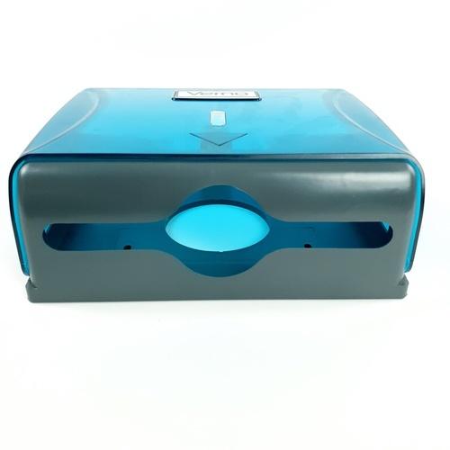 VERNO กล่องกระดาษเช็ดมือ  PQS-OB8101B  สีฟ้า