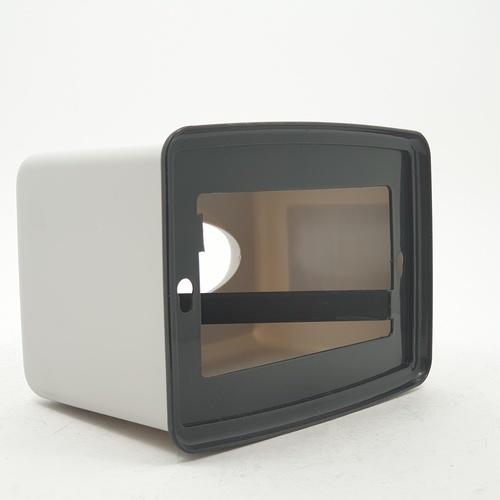 GOME กล่องทิชชู่พลาสติกเหลี่ยม ขนาด 13x17.5x11ซม.  SGY015-GY สีเทา