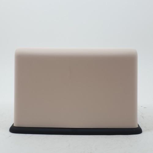 GOME กล่องทิชชู่พลาสติกเหลี่ยม ขนาด 13x17.5x11ซม. SGY015-BE สีเบจ