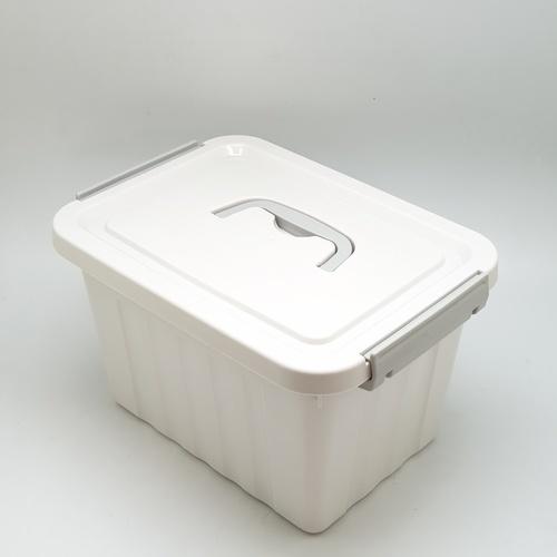 GOME กล่องเก็บของพลาสติกมีฝาปิด SGY039 สีเทา