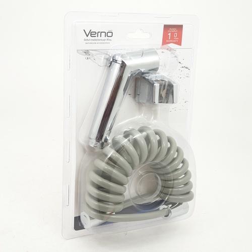VERNO สายฉีดชำระครบชุด สีโครม รุ่น XK-2904 Verno  XK-2904 ขาว
