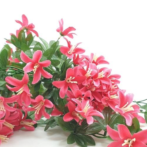 Tree O ดอกไม้ประดิษฐ์ ขนาด 80ซม.  HZGY-019 สีขาว