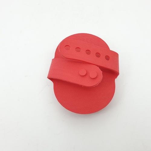 DUDUPETS แปรงขนสัตว์เลี้ยง  ขนาด 8x12x1ซม.  GR012 สีแดง