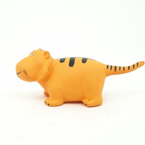 Sanook&Toys ตุ๊กตาเสือ การ์ตูนสัตว์ทุ่งหญ้าขนาด 8 นิ้ว ขนาด 30x38x14cm. (12PCS) X777-7 สีเหลือง