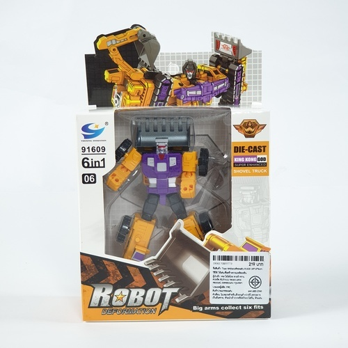 Sanook&Toys รถหุ่นยนต์ของเล่น ขนาด 18x15x6cm. 91609