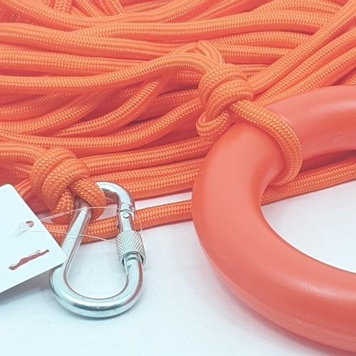Protx เชือกกู้ภัยทางทะเล ยาว30เมตร  SL025-30M  สีส้ม