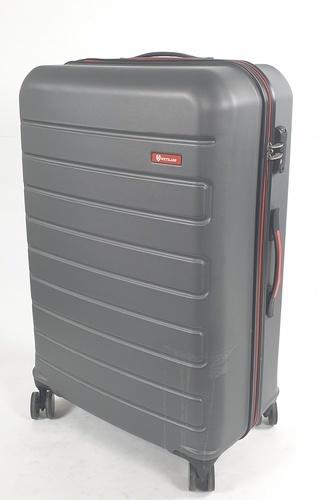 WETZLARS กระเป๋าเดินทาง ABS ขนาด 28 นิ้ว  สีเทาเข้ม A-9361GR-3