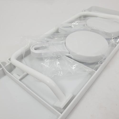 PRIMO หิ้งวางของ พร้อมที่แขวนผ้าพลาสติก ติดผนัง BDQ020