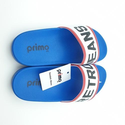 Primo รองเท้าแตะลายRetro LY1514-39BL สีน้ำเงิน