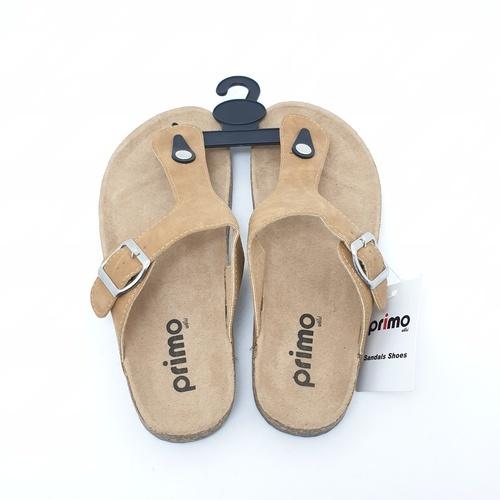 Primo รองเท้าแตะคีบแฟชั่น LY1513-39BR สีน้ำตาล