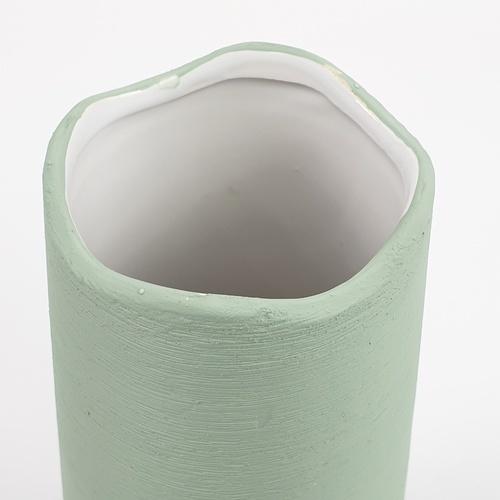 COZY แจกันตกแต่ง Size M   QM041 สีเขียว