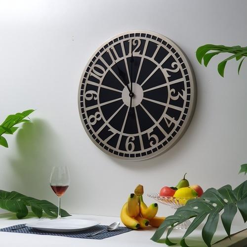 COZY นาฬิกาติดผนัง 60ซม.   DZD064