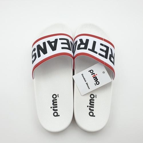 Primo รองเท้าแตะลายRetro LY1514-40WH สีขาว