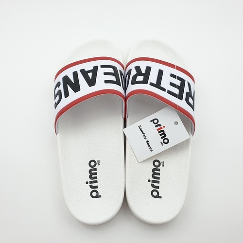 Primo รองเท้าแตะลายRetro LY1514-44WH สีขาว