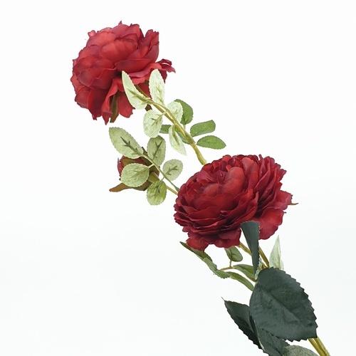 Tree O ดอกไม้ประดิษฐ์ตกแต่ง HB014 สีแดง
