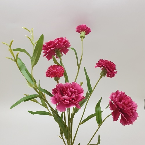 TREEO ดอกไม้ประดิษฐ์ตกแต่ง ZDX003 สีแดง