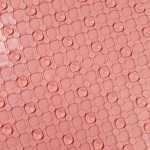 Primo พรมกันลื่น PVC ขนาด 35x78 ซม. EDJJ05-PK สีชมพู