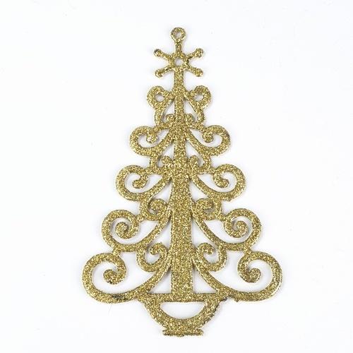 COZY ของตกแต่งต้นคริสต์มาส 2ชิ้น/แพ็ค  ขนาด 0.4x9x14ซม. HR19-692