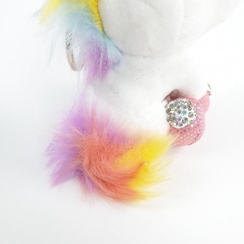 KOJI พวงกุญแจตุ๊กตายูนิคอร์น JHSP001 สีขาว